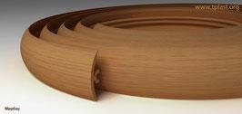 ГИБКИЙ ПРОФИЛЬ (ПОРОГ) TPLAST МЕРБАУ 3 мерта + 2 направляющие по 1,5 метра в комплекте