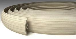 ГИБКИЙ ПРОФИЛЬ (ПОРОГ) TPLAST ЯСЕНЬ 3 мерта + 2 направляющие по 1,5 метра в комплекте