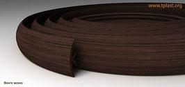 ГИБКИЙ ПРОФИЛЬ (ПОРОГ) TPLAST ВЕНГЕ МОККО  3 мерта + 2 направляющие по 1,5 метра в комплекте