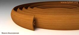 ГИБКИЙ ПРОФИЛЬ (ПОРОГ) TPLAST ВИШНЯ ОБЫКНОВЕННАЯ 3 мерта + 2 направляющие по 1,5 метра в комплекте