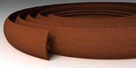 ГИБКИЙ ПРОФИЛЬ (ПОРОГ) TPLAST ОЛЬХА 3 мерта + 2 направляющие по 1,5 метра в комплекте