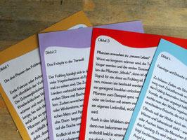 "Diktatpaket 1-4 zum Thema ""Frühling"""
