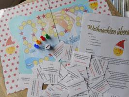 """Wegespiel """"Weihnachten überall"""" 5.-7. Schuljahr"""