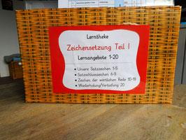"""Lerntheke """"Zeichensetzung Teil I"""", 3-6 Klassen"""