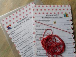 """Wissenstwist """"Weihnachten in aller Welt"""" 5.-6. Schuljahr"""