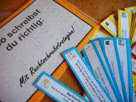 Rechtschreibfächer und Lernposter mit neuen Fresch-Zeichen