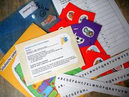 """Lernen an Stationen """"Das Alphabet festigen"""" 5. - 6- Schuljahr"""