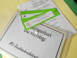 Lernposter Fresch-Strategien + Fresch-Rechtschreibfächer