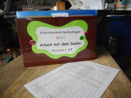 """Lerntheke """"Arbeit mit dem Duden"""", 5.-7. Schuljahr"""