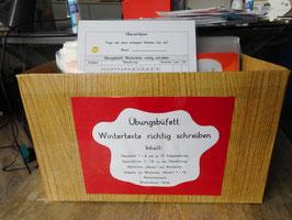 """Übungsbüfett """"Wintertexte richtig schreiben"""", Klassen 4-6"""