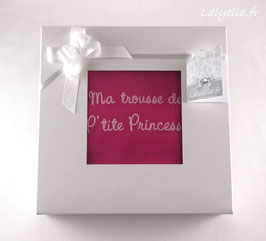 Boite kdo p'tite princesse