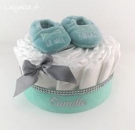 Mini diaper cake le mec parfait