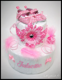 Diaper cake fleur