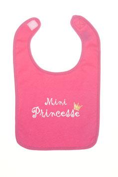 "Bavoir "" mini princesse """