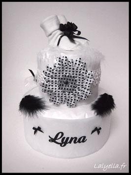 Diaper cake black girl