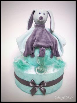 Diaper cake jade