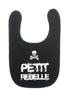 "Bavoir "" petit rebelle """