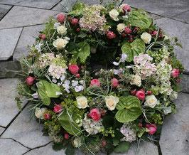 Kränze aus Blumen