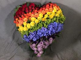 Herzen aus Blumen  Seite in Bearbeitung, Preise bitte über unser Kontaktformular anfragen .