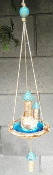 Keramik Deko Burg