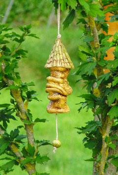 Keramik Burgturm Glocke