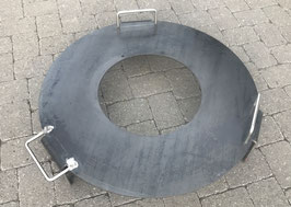 «S» Kon-Tiki Feuerring Stahl