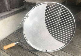 «XS» Kon-Tiki Grillrost mit Mondeinlegeplatte