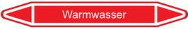 "Klebefolie Warmwasser"" Pfeilform 75x17mm/ 126x26mm/ 179x37mm"