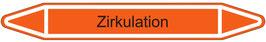 "Klebefolie ""Zirkulation"" Pfeilform 75x17mm/ 126x26mm/ 179x37mm"