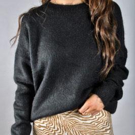 MSCH mohair pullover black
