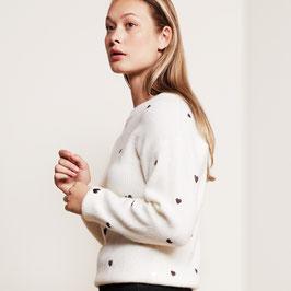 Fabienne Chapot disco hearts pulover