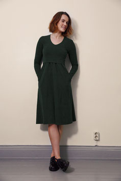 boob Charlotte dress dark green