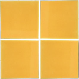 Gelb-Mango - 11x11 cm Mexiko Fliese