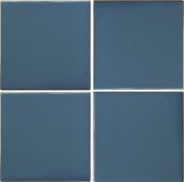 Blau UH9 hellblau - 11x11 cm Mexiko Fliese
