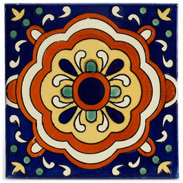 OM ALCORA  - 11x11 cm - Mexiko Fliese