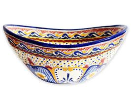 MAYA - MEX7 Aufsatzwaschbecken oval aus Mexiko
