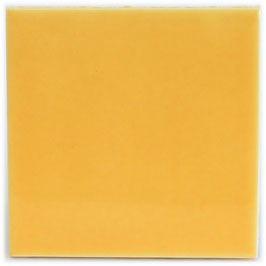 Gelb Mango - ca. 15x15 cm - Mexiko Fliese Premium
