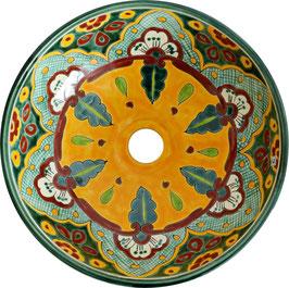 VERANO VERDE - MEX2 Aufsatzwaschbecken aus Mexiko