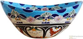 TULUM - MEX7 Aufsatzwaschbecken oval aus Mexiko