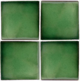 Grün UG3 - 11x11 cm Mexiko Fliese
