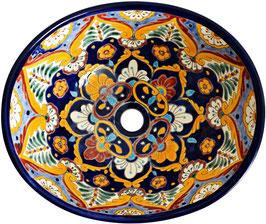 ACAPULCO - MEX7 Aufsatzwaschbecken oval aus Mexiko