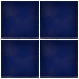 Kobaltblau UB2 - 11x11 cm Mexiko Fliese