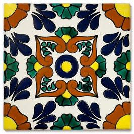 OM Mexambiente - 11x11 cm - Mexiko Fliese