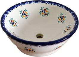 PENSAMIENTO - MEX4 Aufsatzwaschbecken aus Mexiko