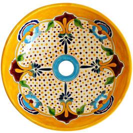PUEBLA - MEX2 Aufsatzwaschbecken aus Mexiko