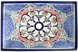 CELAYA - MEX6 Aufsatzwaschbecken aus Mexiko rechteckig