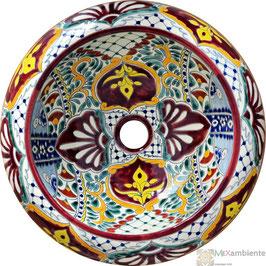 ALEGRIA - Donna Aufsatzwaschbecken aus Mexiko