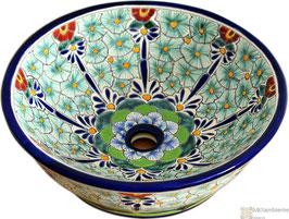 PASION - MEX4 Aufsatzwaschbecken aus Mexiko