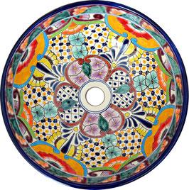 Frida - MEX5 Aufsatzwaschbecken aus Mexiko