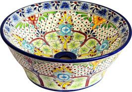 AVENTURA - MEX4 Aufsatzwaschbecken aus Mexiko
